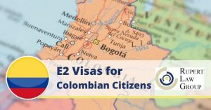 e2 visa for colombians